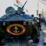 СВМ празднует 310 лет морской пехоте России