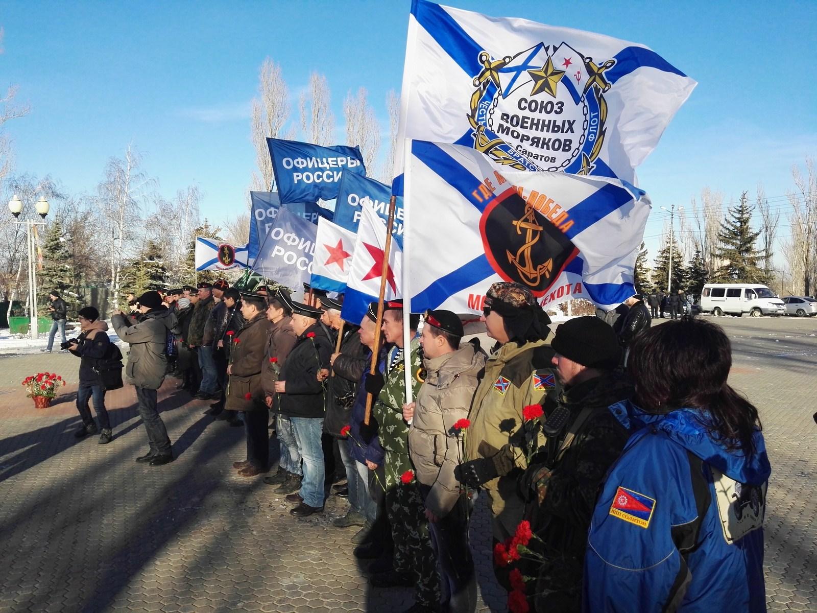 СВМ празднует 310 лет морской пехоте России 28.11.15