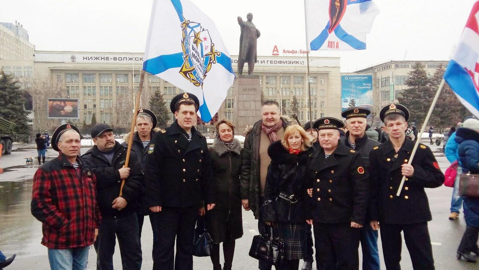 СВМ празднует День Защитника Отечества 23.02.16