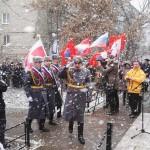 в День Росгвардии 27.03.17 у обелиска погибших спецназовцев.