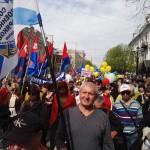 СВМ на первомайской демонстрации 2017