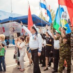 СВМ в колонне Бессмертного полка 9.05.18