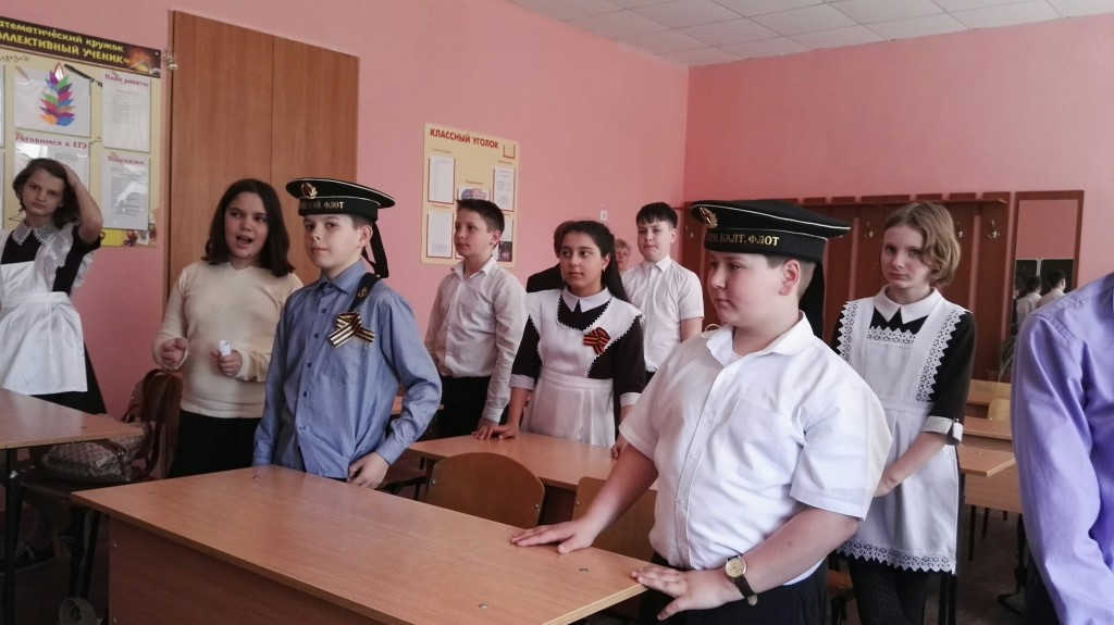 СВМ на уроке Мужества в ср.шк №6 Саратова