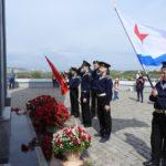 Первый Морской класс юнг СВМ 9 мая 2021 года в Парке Победы